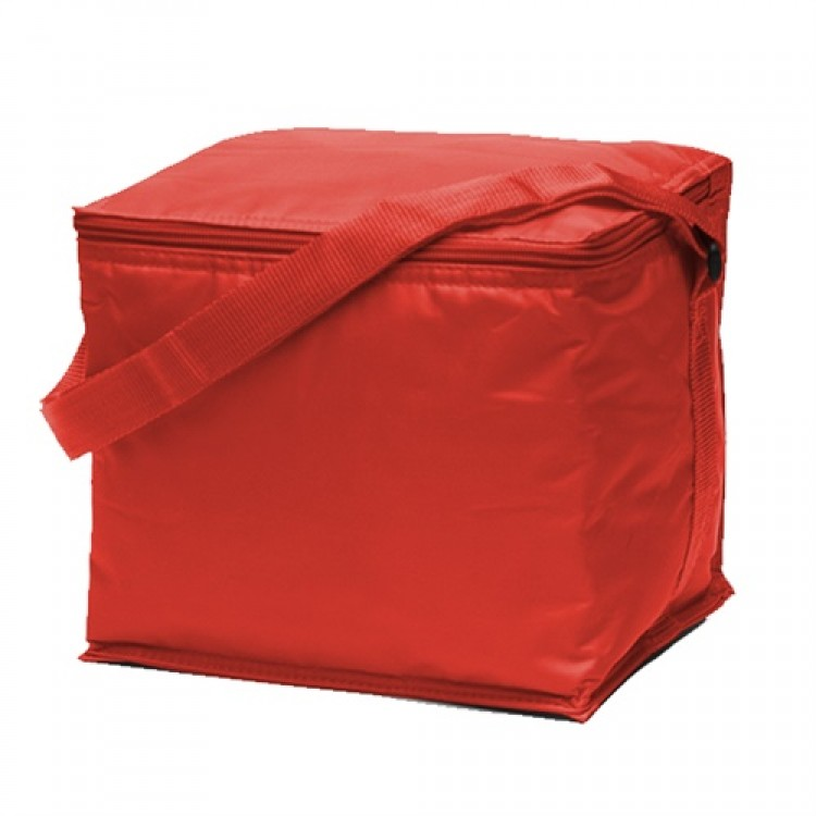 Promobags Basic 6 Pack Cooler Red