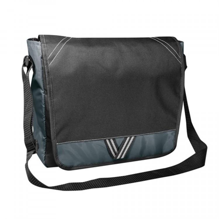 PBO Conference Messenger Bag - Black/Grey