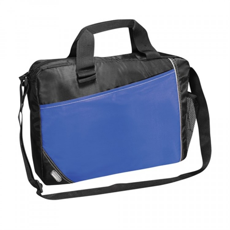 Promobags Conference Laptop Satchel - Blue/Black