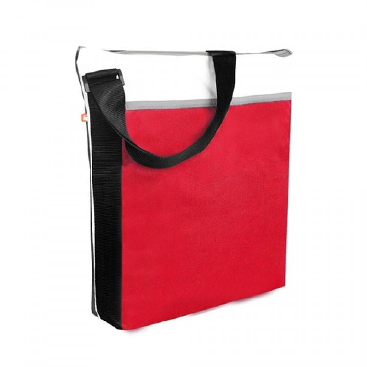 PBO Spectrum Zippered Tote Red