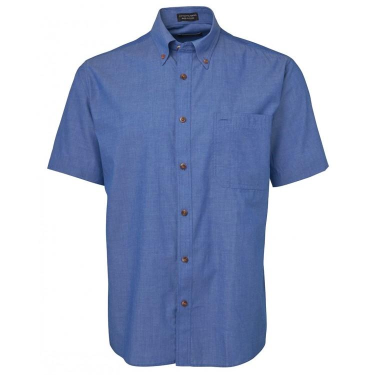 JB's S/S Indigo Chambray Shirt