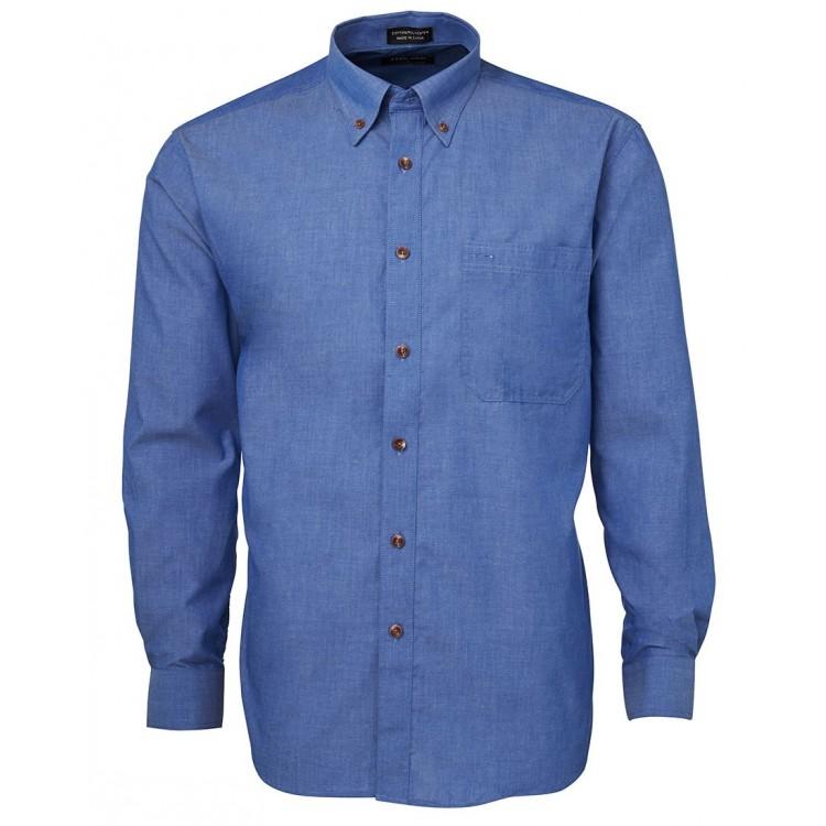 JB's L/S Indigo Chambray Shirt