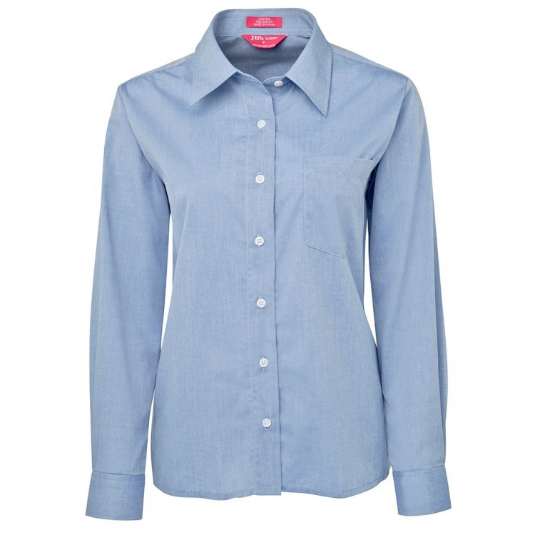 JB's Ladies Original L/S Fine Chambray Shirt