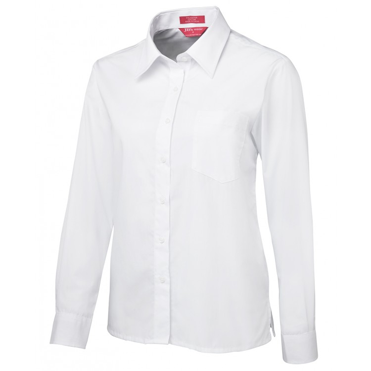JB's Ladies L/S & S/S Original Poplin Shirt