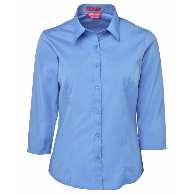 Ladies Urban 3/4 Poplin Shirt