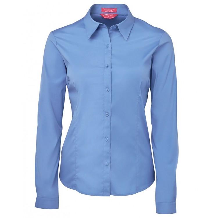 Ladies Urban L/S Poplin Shirt