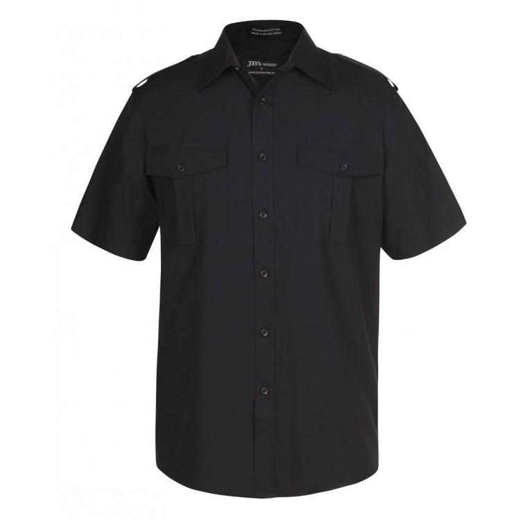 Epaulette Shirt L/S & S/S