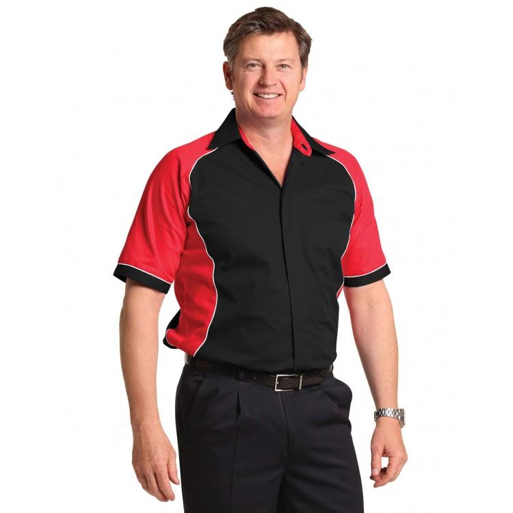 Men's Arena Tri-colour Contrast Shirt