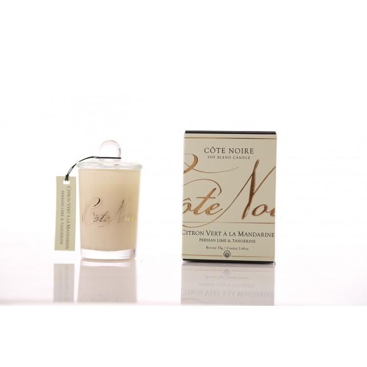 Côte Noire Soy Blend Candle 85g - Persian Lime & Tangerine