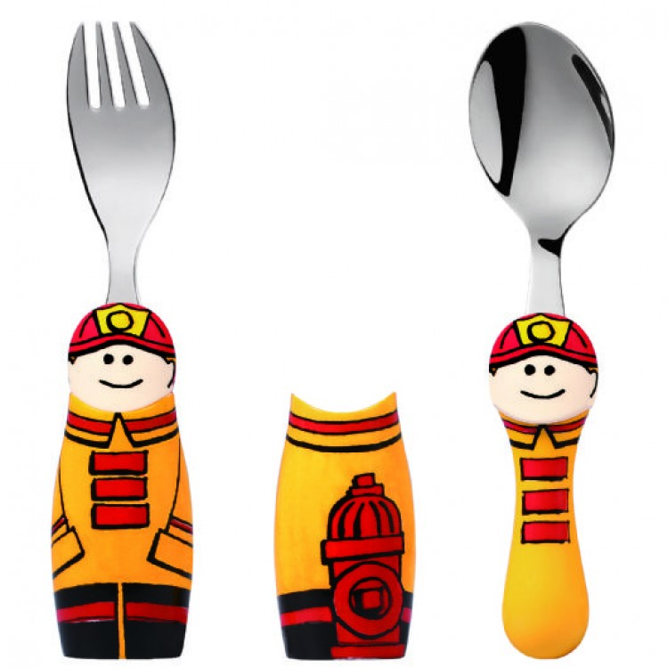 Eat4Fun Fireman 2pc Set