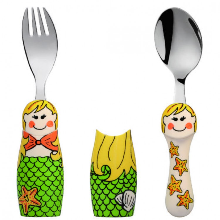 Eat4Fun Mermaid 2pc Set