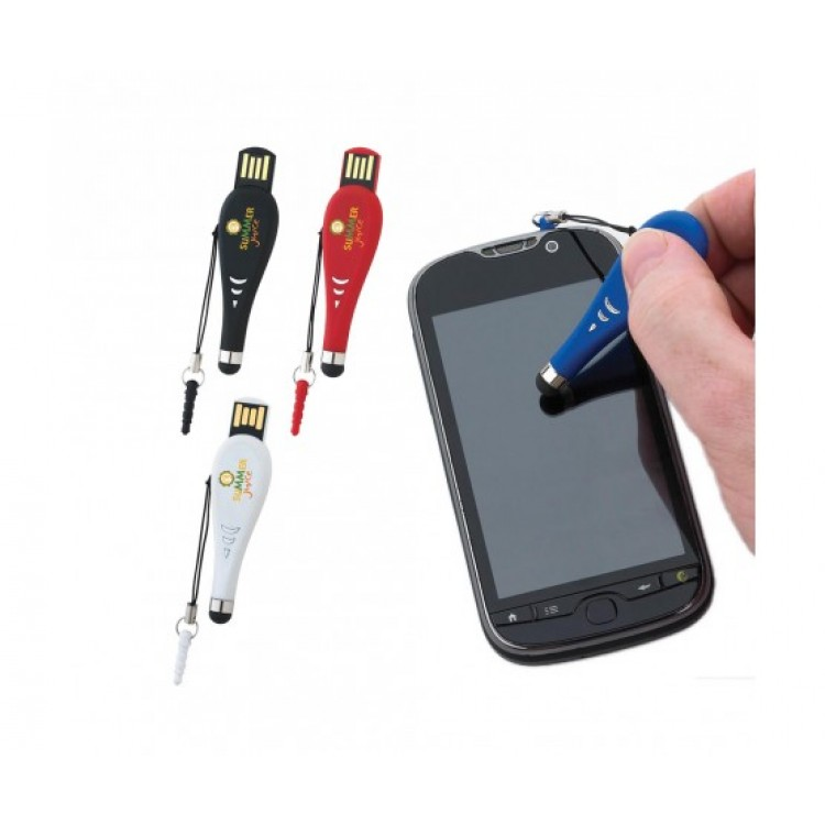 Touch Pen USB 2.0 Flash Drive - 4GB