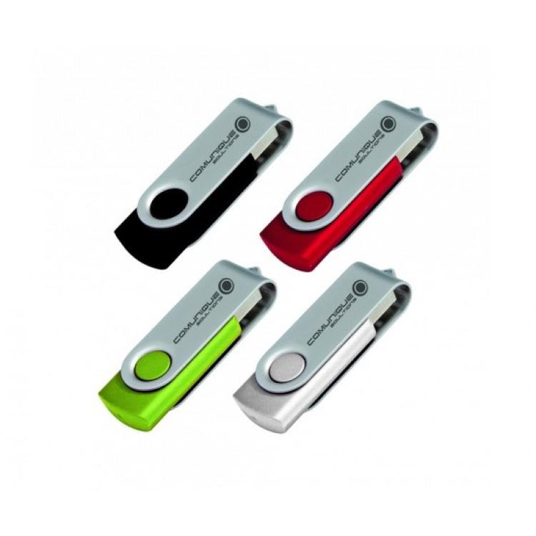 Locally Stocked Folding USB 2.0 Flash Drive - 16GB
