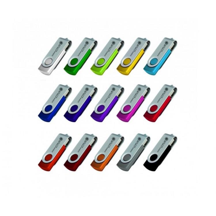 Folding USB 2.0 Flash Drive - 4GB