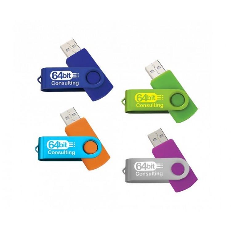 Mix And Match Folding USB 2.0 Flash Drive - 2GB