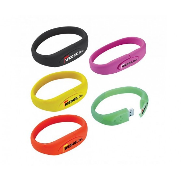 Bracelet USB 2.0 Flash Drive - 1GB