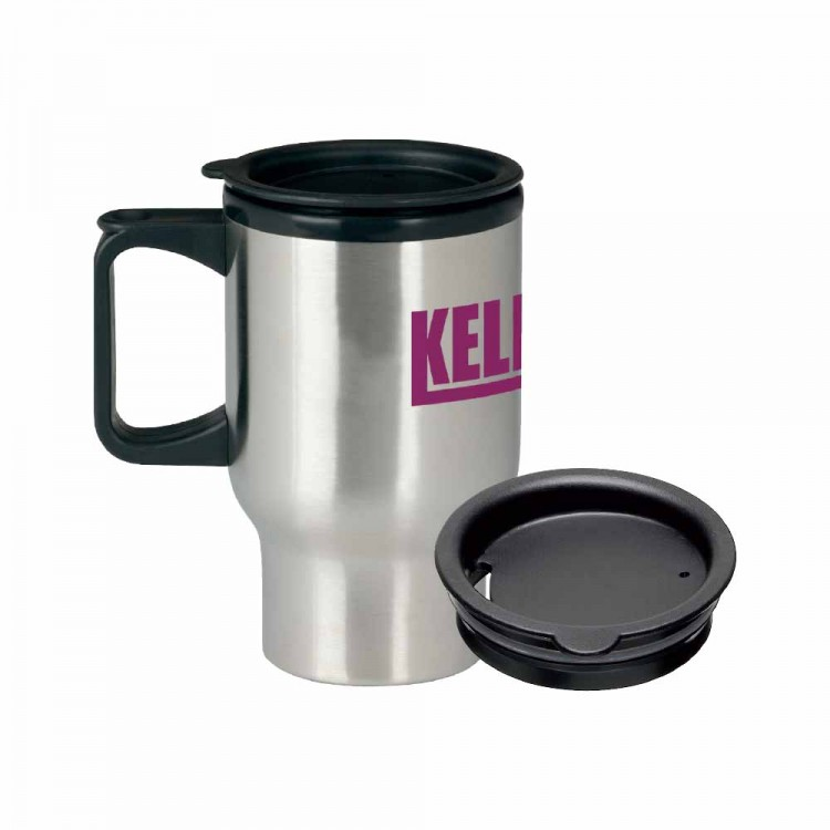 BIC Graphics Stainless Steel Trip Mug - 500ml