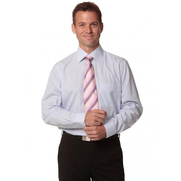Men's Mini Check Long Sleeve Shirt