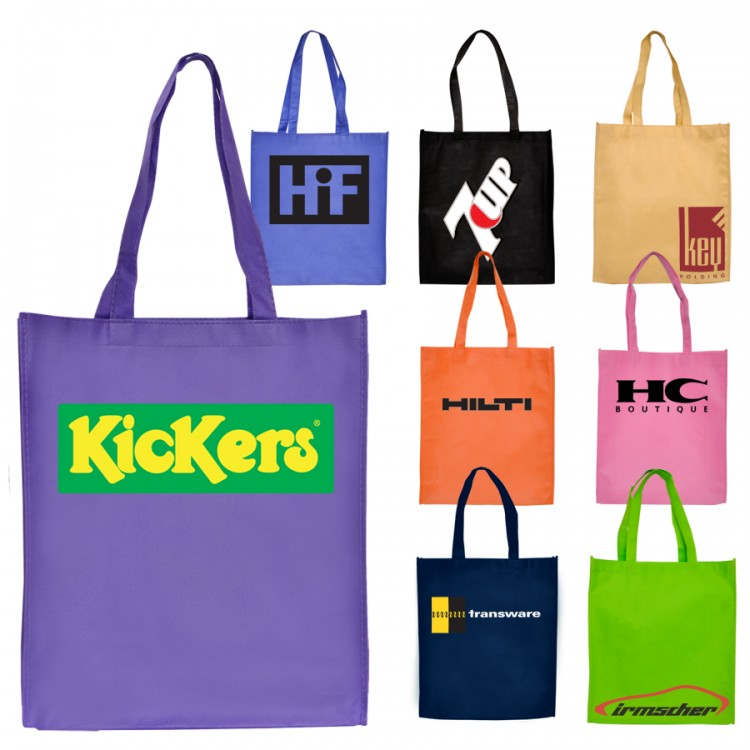 b3cf9982d19 High Caliber Standard Non-Woven Tote Bag with Gusset