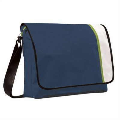 Promobags Spectrum Basic Flap Satchel Navy/White/Black