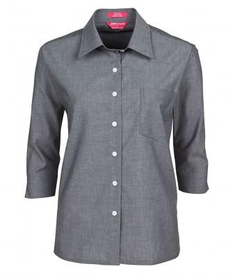 JB's Ladies Original 3/4 Fine Chambray Shirt