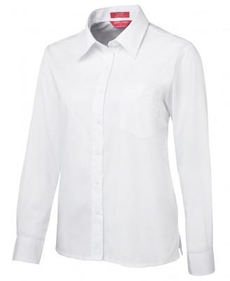 JB's Ladies L/S & S/S Original Poplin Shirt