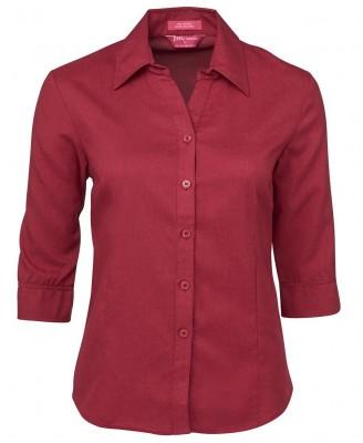 Ladies 3/4 Polyester Shirt