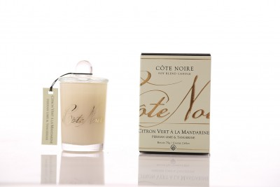 Côte Noire Soy Blend Candle 85g - Persian Lime & Tangerine