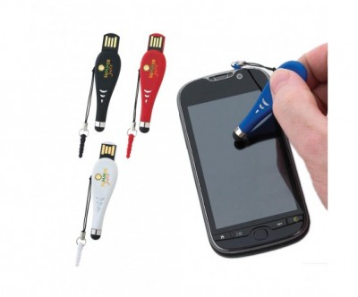 Touch Pen USB 2.0 Flash Drive - 1GB