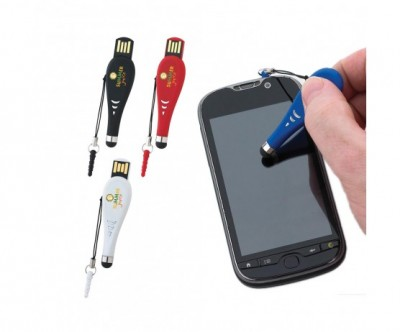 Touch Pen USB 2.0 Flash Drive - 2GB