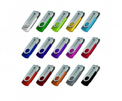 Folding USB 2.0 Flash Drive - 8GB