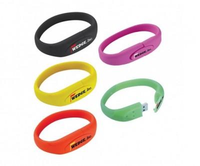 Bracelet USB 2.0 Flash Drive - 1GB