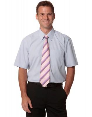 Men's Mini Check Short Sleeve Shirt