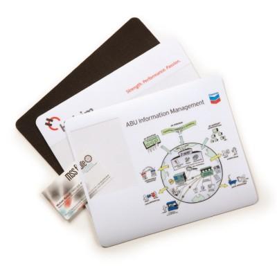 High Caliber Business Card Mouse Mat
