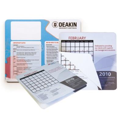High Caliber Calendar Mouse Mat