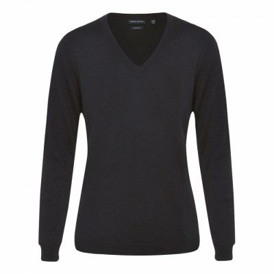 V-neck Ladies Knit Jumper