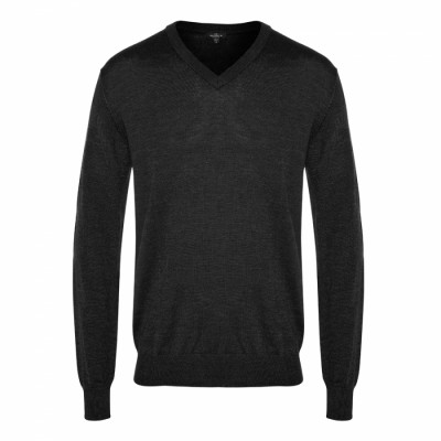 V-neck Mens Knit Jumper