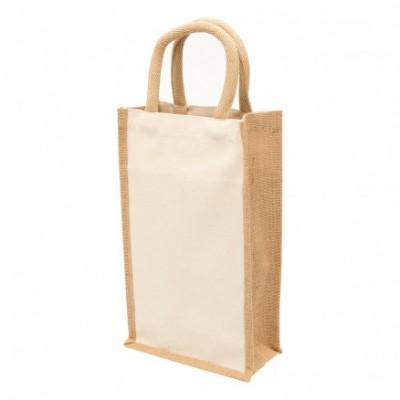 Legend Life Eco Jute 2 Bottle Wine Bag