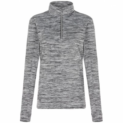 Lila Ladies Mock 1/4 Pullover