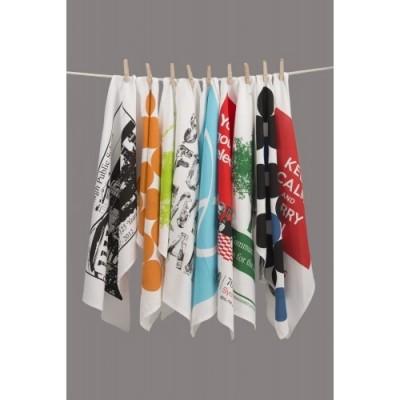 Simba Towels Linen Cotton Tea Towel Printed | KL129