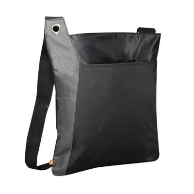 PBO Conference Zippered Tote - Black/Grey