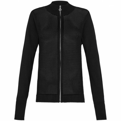 Donna Ladies Zip Cardigan