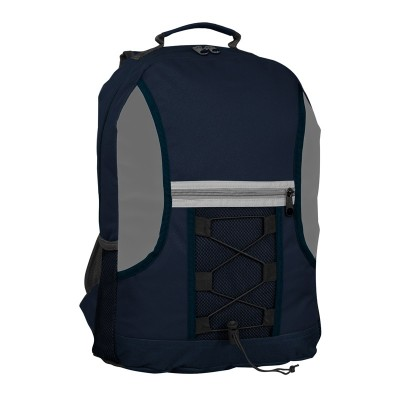 Promobags Spectrum Bungee Backpack Navy