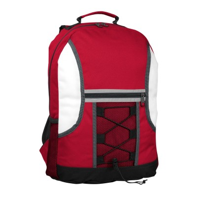Promobags Spectrum Bungee Backpack Red