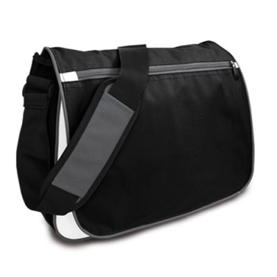 Promobags Spectrum Satchel Black/White/Grey