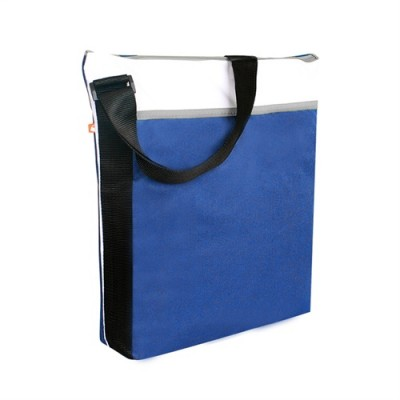 PBO Spectrum Zippered Tote Blue