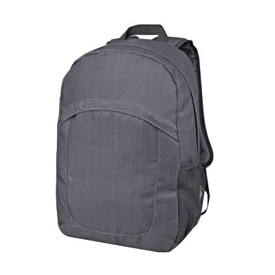 Promobags Vortex Laptop Backpack - Black