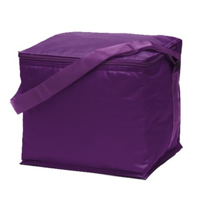 Promobags Basic 6 Pack Cooler Purple