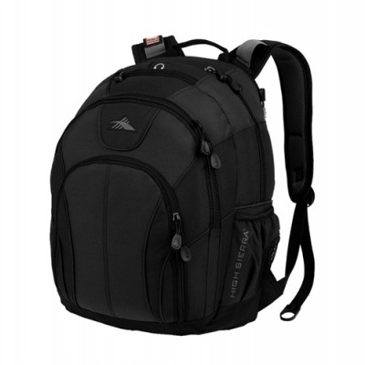 PBO High Sierra Academy Laptop Backpack Black