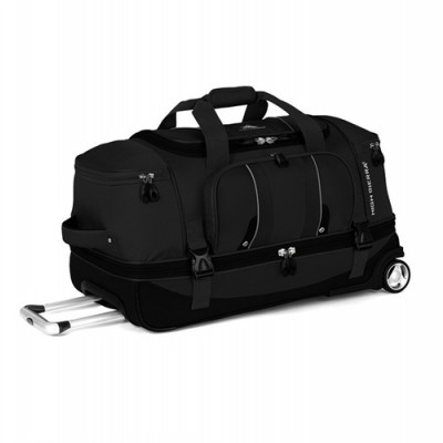 PBO High Sierra Endeavour Drop Bottom Duffle Black